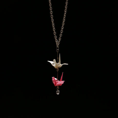 【 カミノシゴト/Origami Jewel 】Crance ピアス・イヤリング・ネックレス