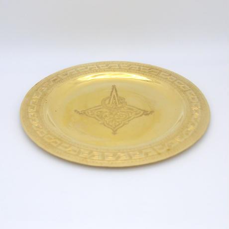 【THE GARDEN/モロッコ雑貨】銅製トレイ 3100