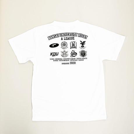 【関西大学リーグ】全チームロゴ入りTシャツ2020
