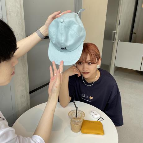 ☺︎<♡ HS TEE navy