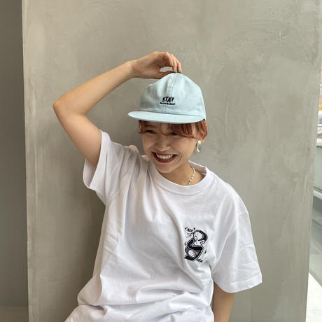 A NOTHING FACE HS TEE white