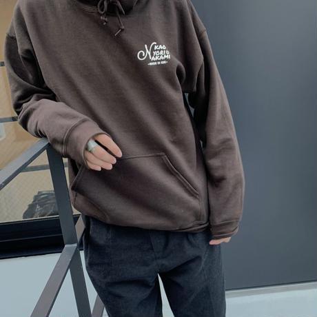 logo parka dark chocolate