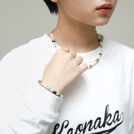 ☺︎<❤︎ beads green bracelet
