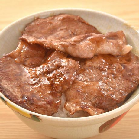 フルーツポーク豚丼