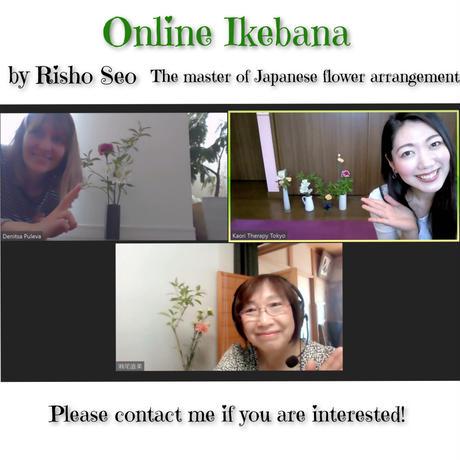 Online Ikebana lesson
