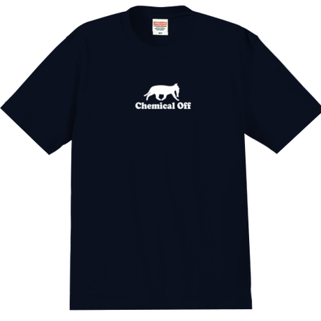 Chemical Off (マリンカラー 紺) かなっぺコンセプトオリジナルTシャツ