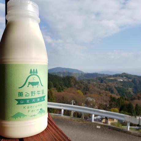 【定期便】薫る野牛乳 500ml×4本