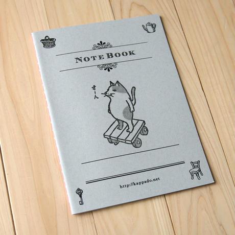 活版印刷ノート 猫がすーん