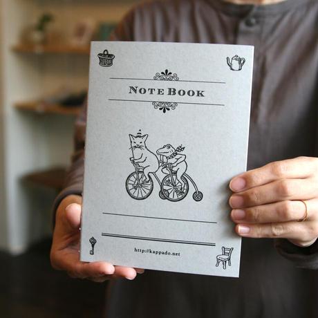 活版印刷ノート 自転車でいこう