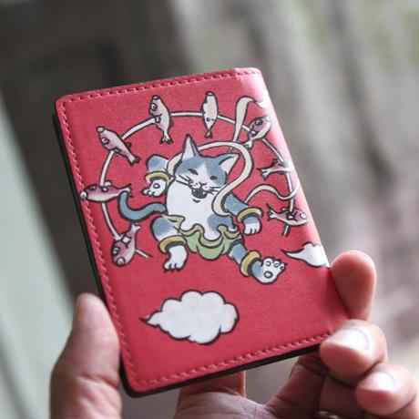 名刺・カードケース 風神雷神(レッド)