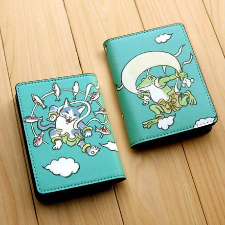 名刺・カードケース 風神雷神(ブルーグリーン)