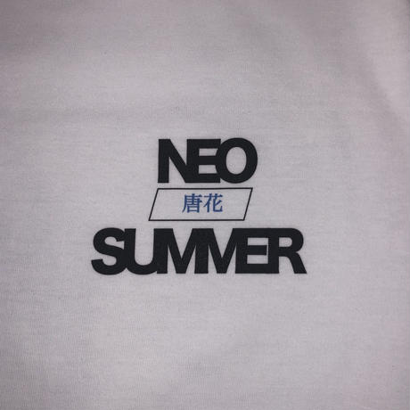 """ Neo Summer ice "" S/S T-shirt  white"