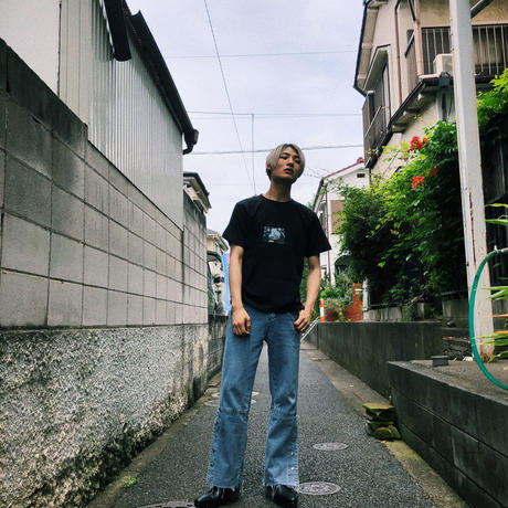 """"""" Lonely Moon """" S/S T-shirt  black"""