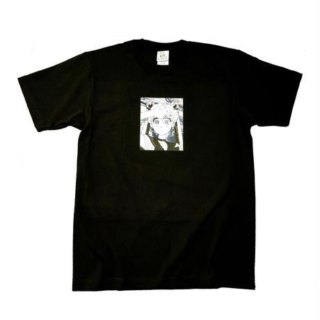 """"""" OSHIOKIYO """"  S/S  T-shirt  black"""