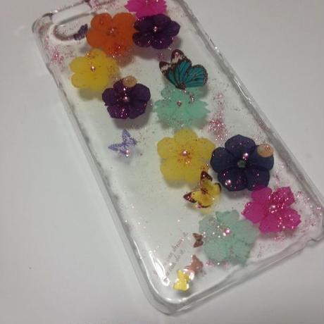 押し花iPhone6ケース