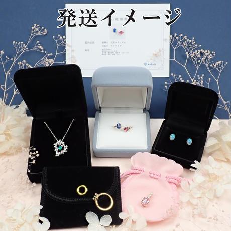 【5/8掲載】Pt900/K18PGピンクダイヤモンド0.048ct リング