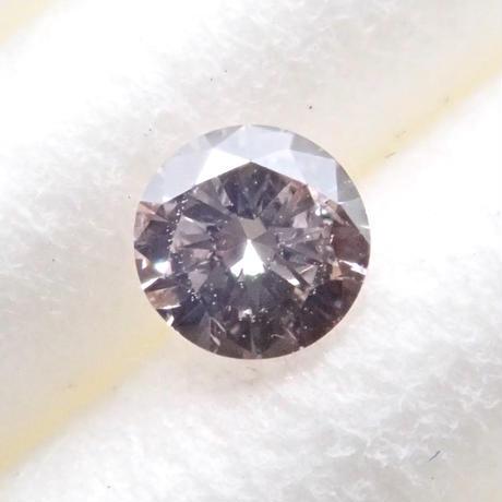 【3/27掲載】ピンクブラウンダイヤモンド 0.080ctルース(LIGHT PINK BROWN, SI2)