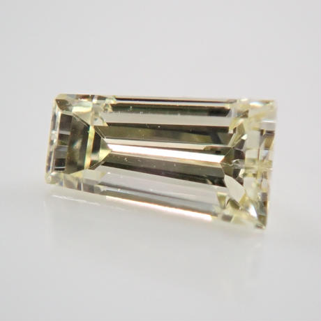 【2/11更新】イエローダイヤモンド 0.198ctルース(LIGHT YELLOW, VS1,テーパードバゲット)