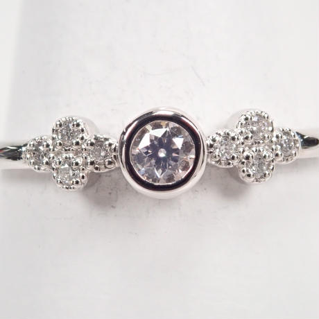 【5/8掲載】Pt950ピンクダイヤモンド0.080ct リング