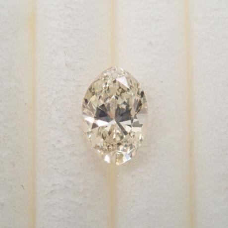 【5/8掲載】イエローダイヤモンド 0.249ctルース(VERY LIGHT YELLOW, SI1)