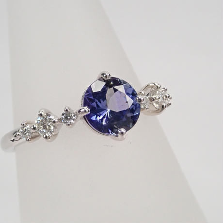 【5/26更新】Pt900タンザナイト0.88ctダイヤモンドリング