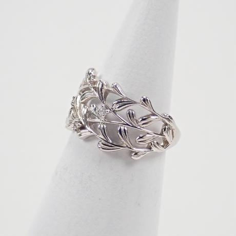 【5/26更新】Pt900ダイヤモンド0.04ct リング(ピンキーリング)