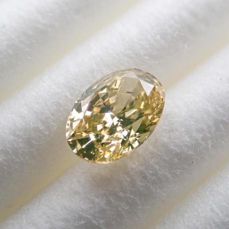 【3/27掲載】ファンシーイエローダイヤモンド 0.289ctルース(FANCY YELLOW, SI1)
