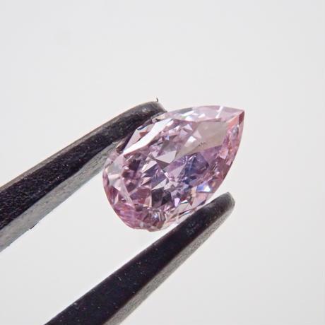 【3/4更新】パープルダイヤモンド 0.069ctルース(FANCY PINKISH PURPLE, SI2)