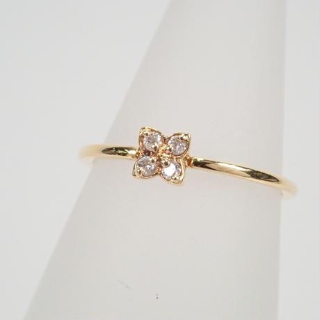 【5/26更新】K18ダイヤモンド0.04ct リング(ピンキーリング)