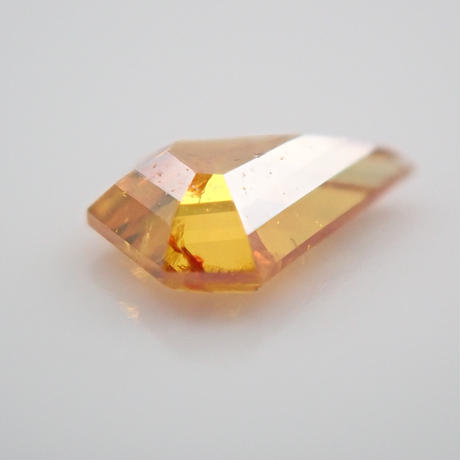 【2/27更新】オレンジダイヤモンド 0.057ctルース(FANCY DEEP YELLOW ORANGE, I1)