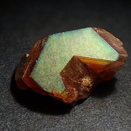 【5/25更新】アンドラダイトガーネット(通称名 レインボーガーネット) 1.333ct原石