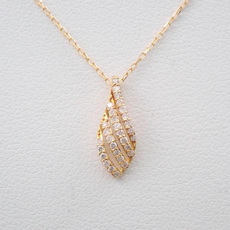 【5/26更新】K18ダイヤモンド0.15ct ペンダント(ネックレス)