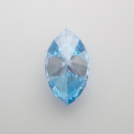 【1/25掲載】ブルーダイヤモンド 0.127ctルース(treated,トリートメント)
