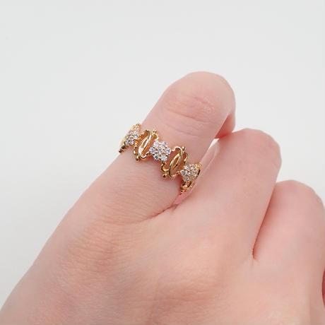 【5/12掲載】K18ダイヤモンド0.21ct リング(ピンキーリング)