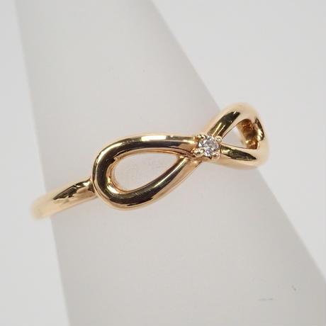【5/1掲載】K18ダイヤモンド0.01ct リング(ピンキーリング)