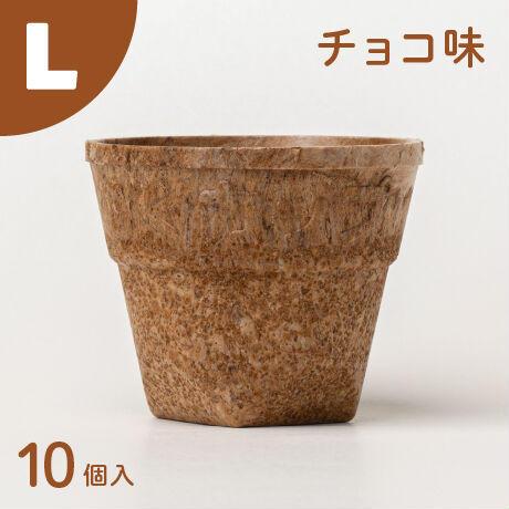 もぐカップ チョコ味 Lサイズ 10個入