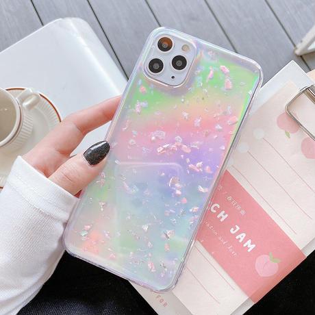 【No.144】ラメ柄 iPhoneケース 2種類