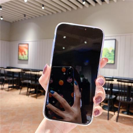 【No.155】 クリアケース ぷっくりデザイン リボン iPhoneケース 3種類