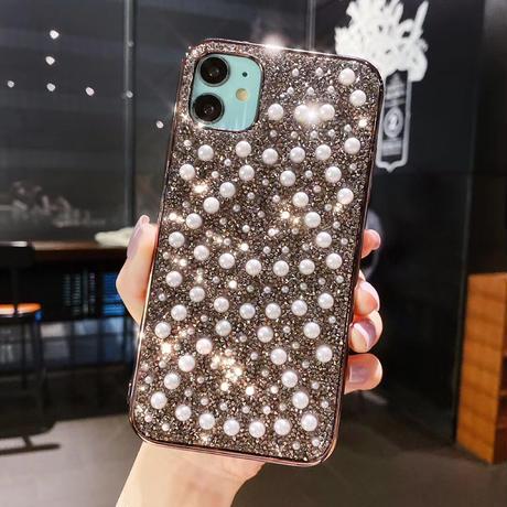 【No.306】パールダイヤモンド  iPhoneケース 3種類