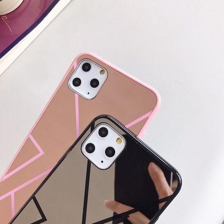 【No.209】ミラーデザイン iPhoneケース 2種類