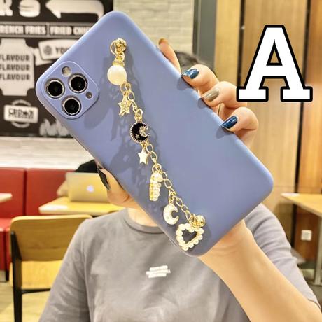 【No.247】チェーンブレスレット  iPhoneケース 2種類