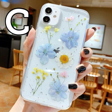 【No.152】 クリアケース 花柄 iPhoneケース 3種類