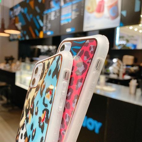 【No.13】アニマル柄 レオパード柄 iPhoneケース 2種類
