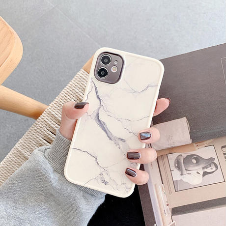 【No.216】  大理石柄  iPhoneケース 2種類