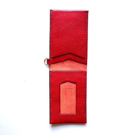 No.14 Pass Holder RED【在庫限り】