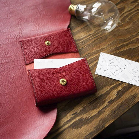 No.11 Card Case RED【在庫限り】