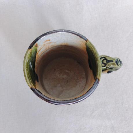 織部 涙トクサ マグカップ