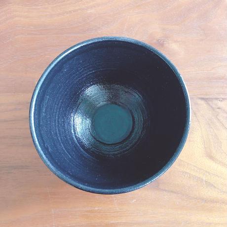 黒織部めし碗/小