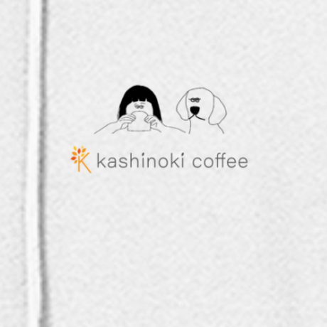 kashinoki coffeeオリジナルプルオーバー