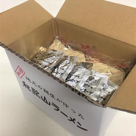 オンラインショップ限定!和歌山ラーメン10食入り(生中華麺10食・車庫前系醤油スープ10個)